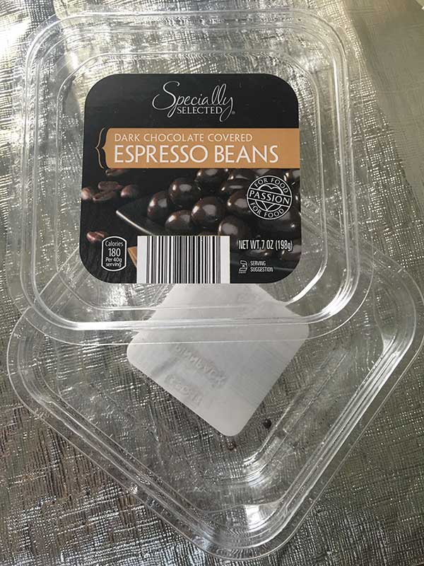 Dark Chocolate Covered Espresso Beans
